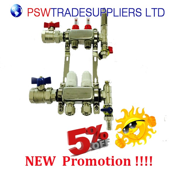 Underfloor Heating manifolds