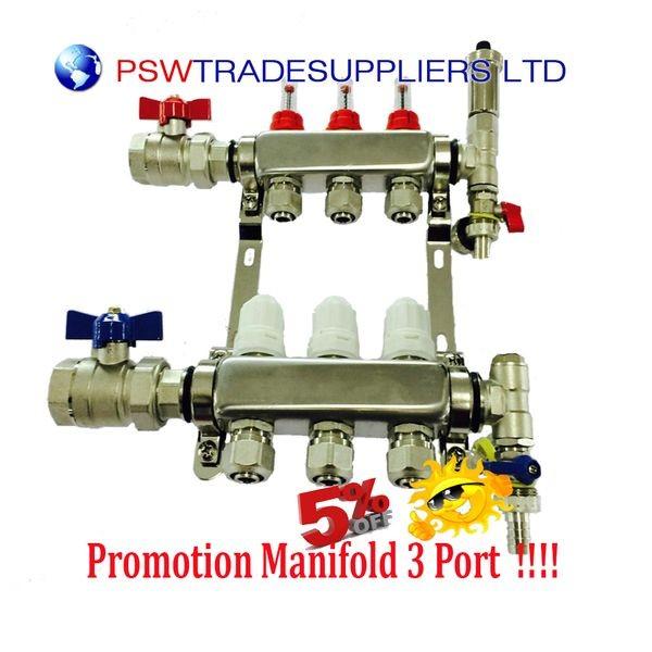 Underfloor Heating manifolds