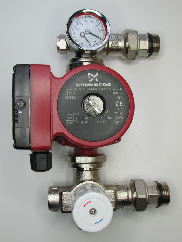 GRUNDFOS PUMP WITH PUMP MIXER SET