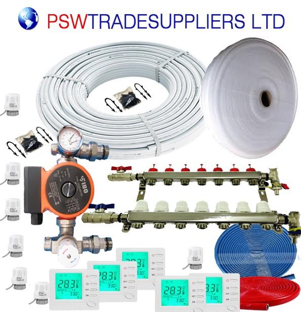 UnderFloor Heating Kit  Water 20 - 25 m2 (inc pump DAMBAT IBO